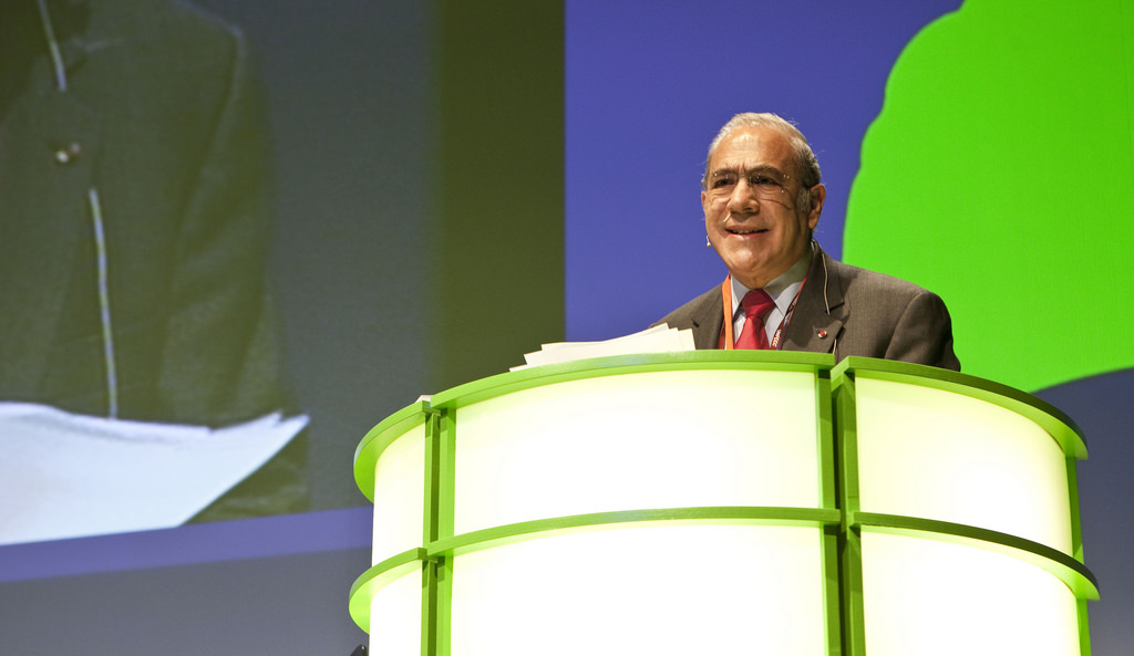 Angel Gurría, Secretary-General of OECD